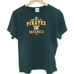 NWT! Majestic Pittsburgh Pirates T-Shirt XL